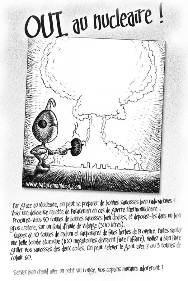 OUI au Nucléaire-Patateman-recette