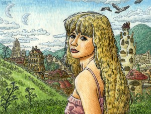 Lydiane, projet de BD Dévastation